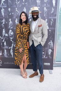 Im Rahmen eines Andaz Salons wurde beim ersten Event auf der neuen Terrasse Eugen21 im Hotel Andaz Vienna das erste Mode Wien Magazin ´69 people, 69 charakters, 69 styles´ präsentiert, Wien, 20.7.2021, -
