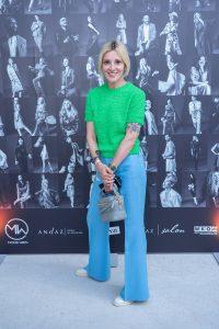 Im Rahmen eines Andaz Salons wurde beim ersten Event auf der neuen Terrasse Eugen21 im Hotel Andaz Vienna das erste Mode Wien Magazin ´69 people, 69 charakters, 69 styles´ präsentiert, Wien, 20.7.2021, -  Billi THANNER