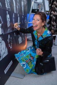 Im Rahmen eines Andaz Salons wurde beim ersten Event auf der neuen Terrasse Eugen21 im Hotel Andaz Vienna das erste Mode Wien Magazin ´69 people, 69 charakters, 69 styles´ präsentiert, Wien, 20.7.2021, -  Marion NACHTWEY