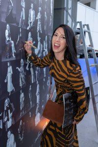 Im Rahmen eines Andaz Salons wurde beim ersten Event auf der neuen Terrasse Eugen21 im Hotel Andaz Vienna das erste Mode Wien Magazin ´69 people, 69 charakters, 69 styles´ präsentiert, Wien, 20.7.2021, -  Caroline KREUTZBERGER