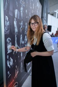 Im Rahmen eines Andaz Salons wurde beim ersten Event auf der neuen Terrasse Eugen21 im Hotel Andaz Vienna das erste Mode Wien Magazin ´69 people, 69 charakters, 69 styles´ präsentiert, Wien, 20.7.2021, -  Sigrid MAYER