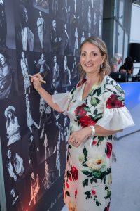Im Rahmen eines Andaz Salons wurde beim ersten Event auf der neuen Terrasse Eugen21 im Hotel Andaz Vienna das erste Mode Wien Magazin ´69 people, 69 charakters, 69 styles´ präsentiert, Wien, 20.7.2021, -  Patrizia MARKUS