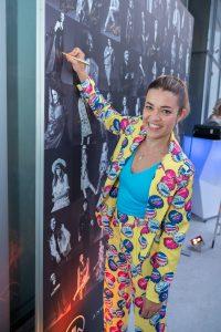 Im Rahmen eines Andaz Salons wurde beim ersten Event auf der neuen Terrasse Eugen21 im Hotel Andaz Vienna das erste Mode Wien Magazin ´69 people, 69 charakters, 69 styles´ präsentiert, Wien, 20.7.2021, -  Jenny POSCH