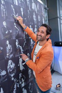 Im Rahmen eines Andaz Salons wurde beim ersten Event auf der neuen Terrasse Eugen21 im Hotel Andaz Vienna das erste Mode Wien Magazin ´69 people, 69 charakters, 69 styles´ präsentiert, Wien, 20.7.2021, -  Fadi MERZA